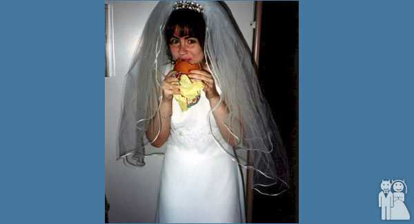 funny mcdonalds wedding photo