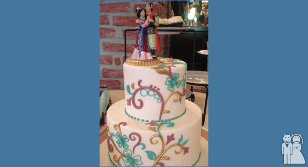 The Mulan Cake Wedding Unveils Funny Wedding Photos