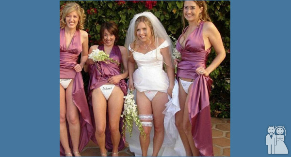 Panty Raid Wedding Unveils Funny Wedding Photos