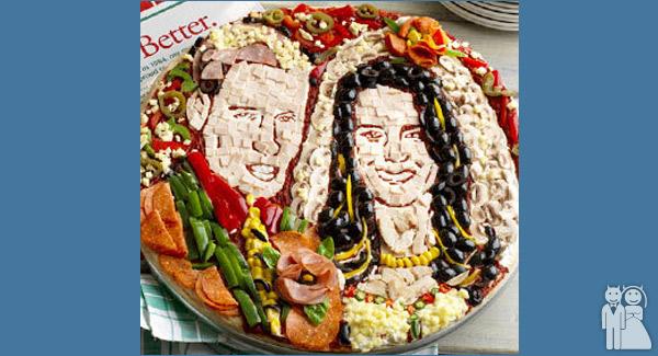 funny royal wedding pizza photo