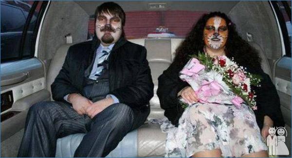 funny wedding theme photo